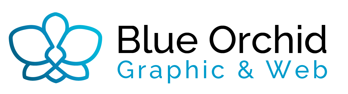 Blue Orchid Graphic & Web